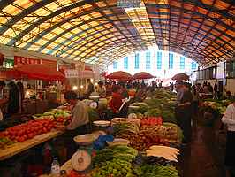 Local vegetable market, Kunming